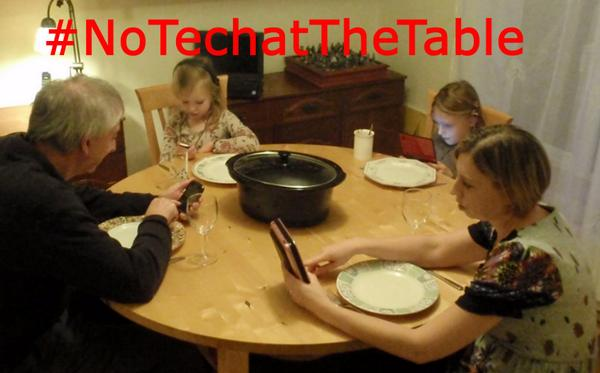 NoTechatTheTable
